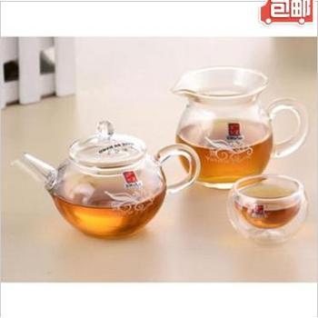 一屋窑耐高温玻璃茶具套组 玻璃功夫茶具礼盒礼品 FH-204/7M