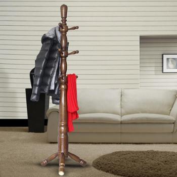 实木衣帽架落地卧室挂衣架门厅创意衣服架