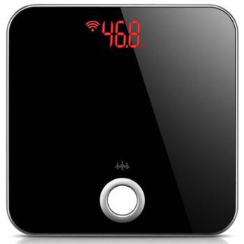 乐心(LIFESENSE)微信智能体重秤 体脂秤S1 Wifi版 黑色