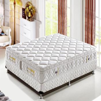 天然乳胶独立弹簧床垫1.5 1.8米席梦思床垫 小霸王A款