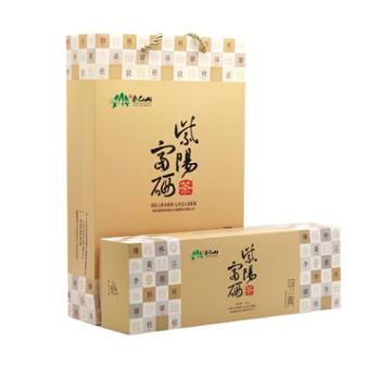 【秦巴山富硒茶业】紫阳富硒绿茶一级黄百家姓 128g /条 4*32g