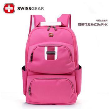 瑞士军刀SWISSGEAR双肩包旅游运动背包14寸女包电脑包SA7667