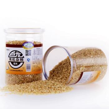 有机糙米罐装380g 东北特产 有机杂粮