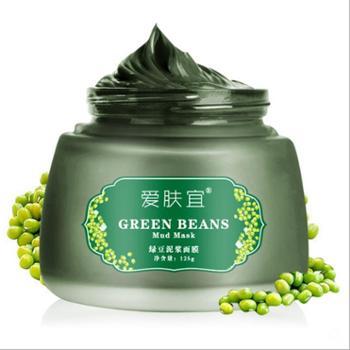 爱肤宜绿豆泥浆面膜125克