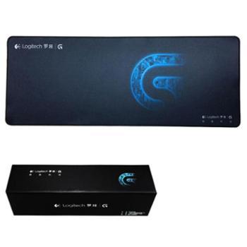 罗技鼠标垫超大鼠标垫游戏键盘桌垫锁边加厚包边办公电脑桌面G502专用