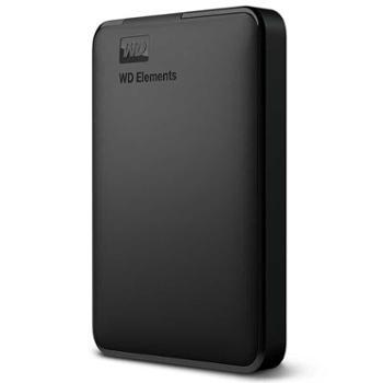 西部数据(WD)1TBUSB3.0移动硬盘Elements新元素系列2.5英寸