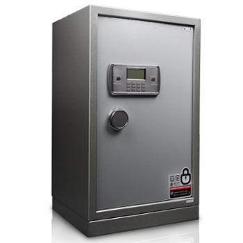 得力保险柜家用保险箱办公系列3645保管柜小型密码入墙隐形全钢睿智系列玉石灰