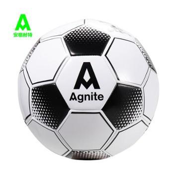 【单件包邮】安格耐特(Agnite)PVC机缝儿童成人 比赛训练足球 经典黑白 4号PVC 机缝 F1242