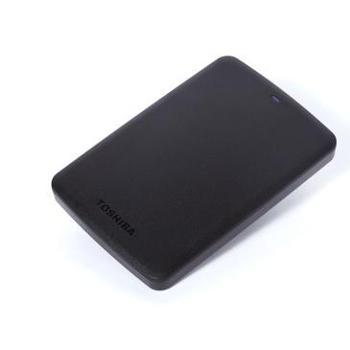 东芝TOSHIBA黑甲虫A2移动硬盘2.5英寸USB3.01TB高速传输存储盘