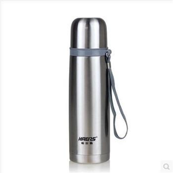 哈尔斯保温杯子304不锈钢500ml真空子弹头男女创意个性便携喝水杯