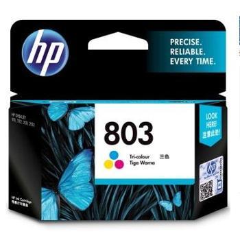 惠普(HP)F6V20AA803彩色墨盒(适用Deskjet1112213211112131)
