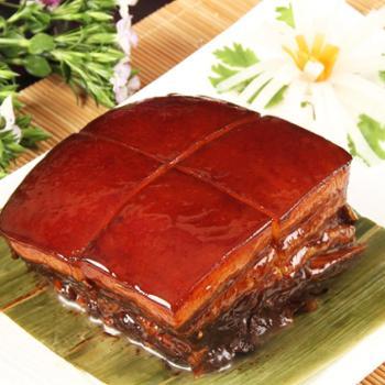 江南美食万三东坡肉周庄特产红烧肉猪肉类午餐肉熟食卤味真空包装