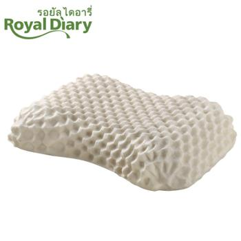 Royal 泰国天然乳胶美容按摩枕R4