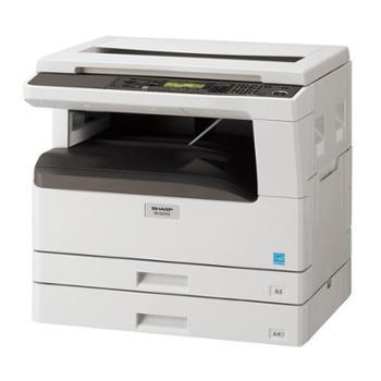 夏普(SHARP)AR-2308D黑白数码复印机 (A3,23张/分钟,复印,打印,扫描,250张纸盒*2,含工作台)