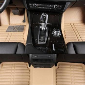 8090 超纤皮全包围汽车脚垫 防水易清洗 专车专用脚垫黑米橙灰多色可选