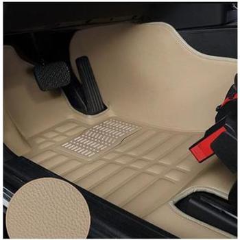 8090汽车脚垫新款CY大包围防滑脚垫易清洗防漏水专车专用米色灰色橙色黑色