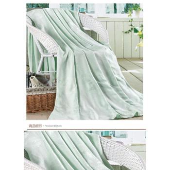 生态精纺竹纤维透气毯/空调毯/夏用毯