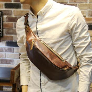 原创设计2015新款腰包男士小胸包韩版男包休闲小腰包潮男户外小包