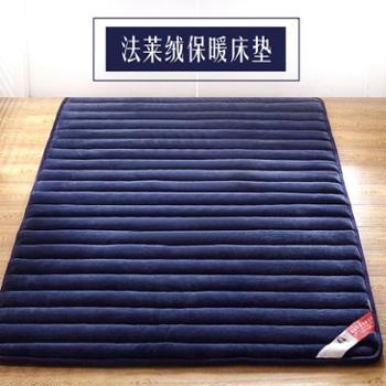 冬季榻榻米床垫床褥子学生宿舍单双人可折叠海绵垫被1.5m1.8m床