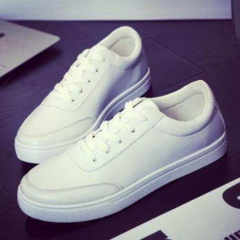 春秋季板鞋男士休闲鞋英伦韩版小白鞋男鞋子低帮运动学生鞋