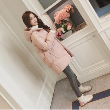 冬季外套棉服女韩版宽松学生棉衣中长款新款棉袄ins面包服潮