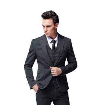 西服套装男士职业商务正装外套修身休闲小西装男ZY756