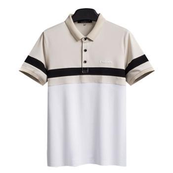 青年男士POLO衫修身商务休闲短袖T恤男SYPB8590