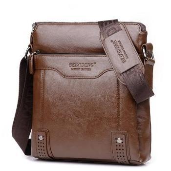 男包男士单肩包男士斜挎包男士商务包休闲包公文包皮包潮流背包竖款包箱包皮具