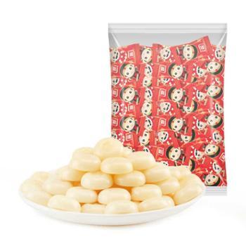 雅客白脱司考奇牛奶味糖散装500g结婚喜糖糖果休闲零食新娘新郎红