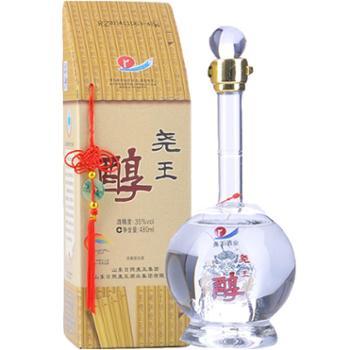 尧王醇35度龙瓶浓香型白酒480mL
