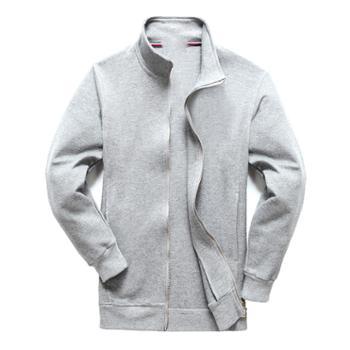 Aeroline男士立领卫衣长袖时尚舒适开衫运动男式上衣