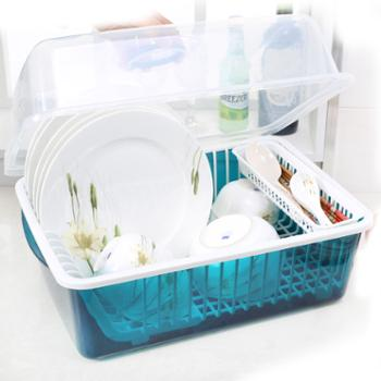 碗柜塑料厨房沥水碗架碗筷收纳盒碗碟架置物架