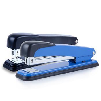 广博DSJ7205S大号12号金属订书机 创意加厚订书器省力订书机