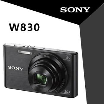 索尼(SONY)DSC-W830数码相机高清卡片照相机索尼w830