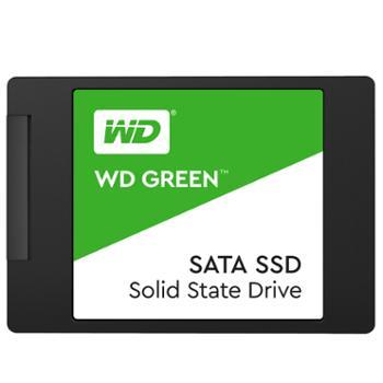 西部数据/WD计算机台式PC电脑笔记本固态SSD硬盘Green系列日常家用绿盘低耗节能SATA3