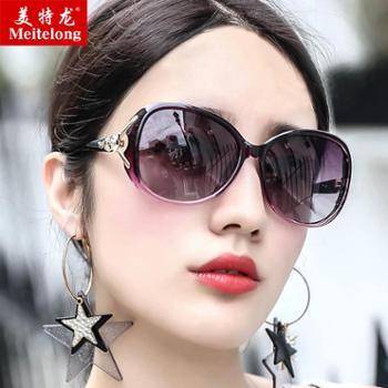 太阳镜新款墨镜女韩版潮复古原宿风防紫外线圆脸眼睛女式眼镜