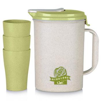 联创DF-CP3019M韩式麦香水壶套餐水壶水杯水瓶果汁壶开水壶茶水壶