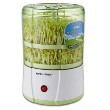 康绿保双层豆芽机 家用智能豆芽机KLB-D01