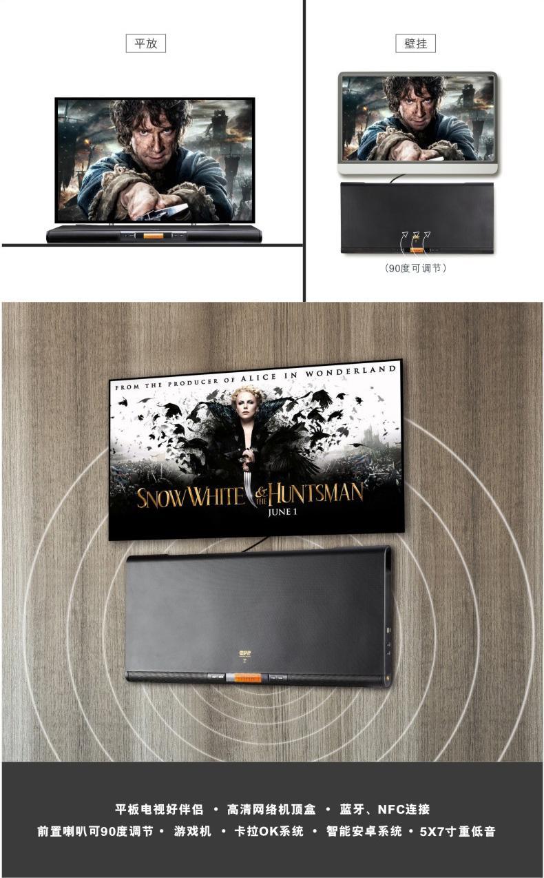 MeisilaiDeng简约现代悬挂式壁挂电视柜墙上机顶盒客厅挂墙实...