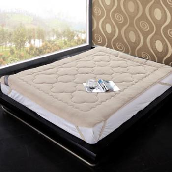 博洋家纺床上用品保暖床褥珊瑚绒舒柔床褥/床笠