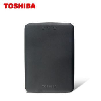 东芝HDTU110Y无线USB3.0移动硬盘1TB 2.5寸 手机wifi共享