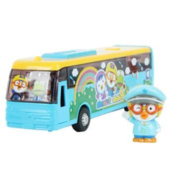 韩国pororo啵乐乐系列巴士NEW汽车玩具儿童益智玩具