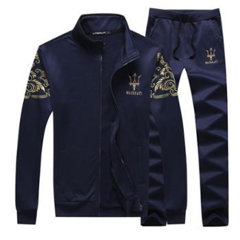 2016新款秋冬新款运动套装男士休闲长袖长裤