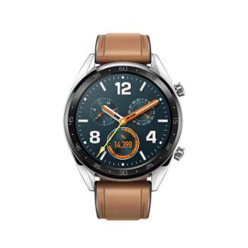 【新品上市】华为WATCHGT运动版黑色时尚款钢色智能手表高清彩屏心率监测苹果安卓移动支付