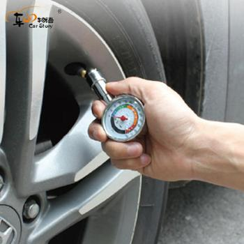 车之物语不锈钢胎压表机密胎压表金属胎压表