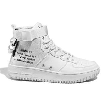 喜得狼ins超火的鞋子休闲板鞋运动鞋男女潮流高帮滑板鞋情侣