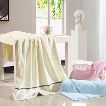 梅兰锦绣 浴巾 全棉浴巾 柔软吸水 水立方浴巾 YJ-5007