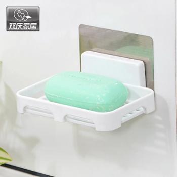 【包邮】双庆无痕贴沥水皂盒架