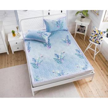 维科家纺竹与棉乳胶席+枕套三件套