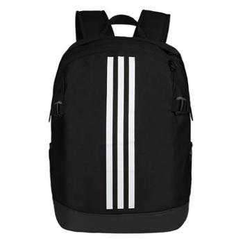 阿迪达斯adidas训练男女双肩背包黑BR5864